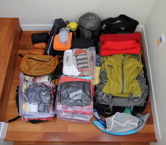 Travel Packing from Discovercorps.com